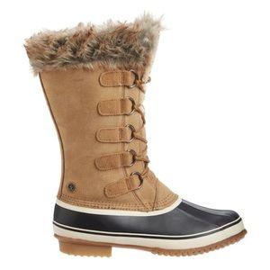 Northside-Waterproof Suede Faux Fur Kathmandu Boot
